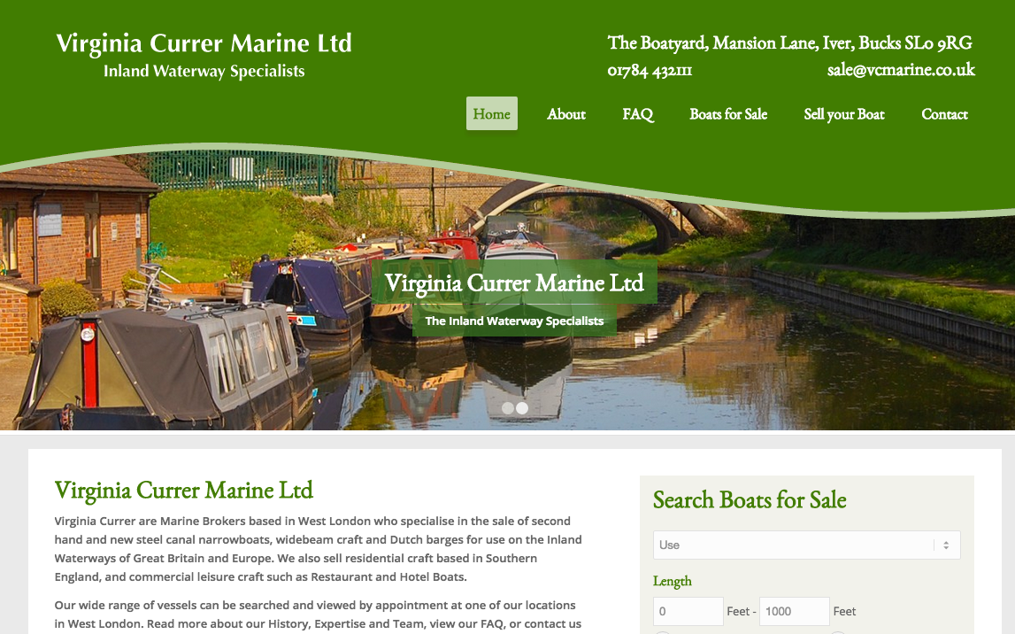 http://www.sproutdesigns.co.uk/clients/virginiacurrer/